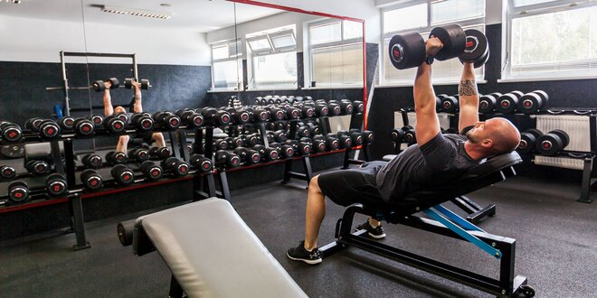 Neobmedzená permanentka do fitness IRON GYM