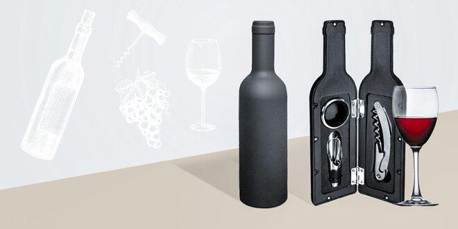 3-dielna vinárska sada so štýlovým dizajnom