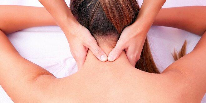 Uvoľnenie krčnej chrbtice či hormonálna masáž