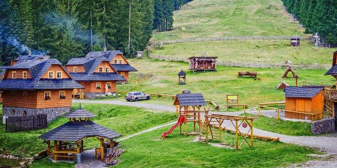 Letný wellnes pobyt na Orave v Hruštíne
