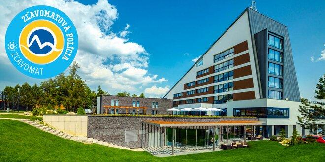 Exkluzívny letný pobyt v najmodernejšom wellness hoteli HORIZONT Resort****