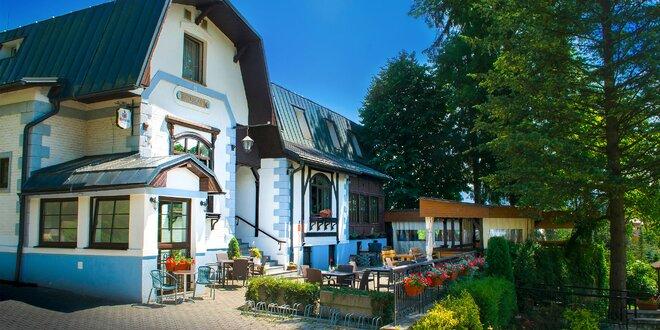 Romantický pobyt v centre Rajeckých Teplíc s privátnym wellness