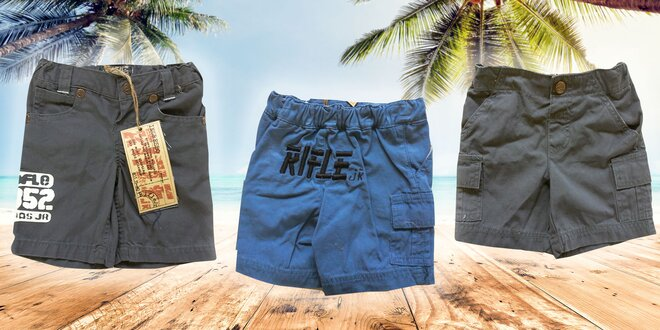 Detské šortky a bermudy značky RIFLE