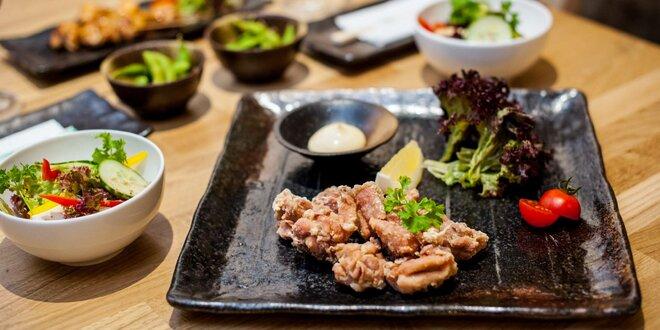 Japonské špeciality: Ochutnávkové menu pre dvoch