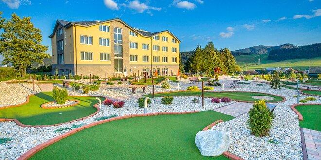 Adventure golf v hoteli Končistá