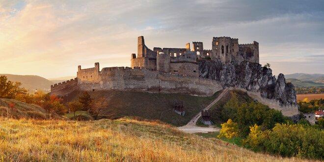 Vstup na hrad Beckov pre 1 dospelú osobu