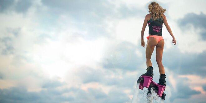 Lietanie nad vodou - úvodný kurz FLYBOARDINGU