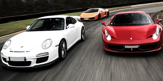 Zážitok v športových autách - vrátane paliva!