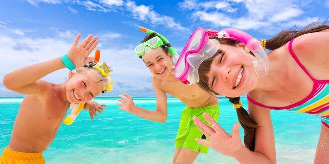 Super detský tábor plný oddychu a zábavy na Makarskej riviére