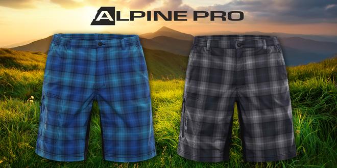 Pánske softshellové šortky Alpine Pro