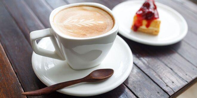 Káva alebo čaj s koláčikom v kaviarni snov!