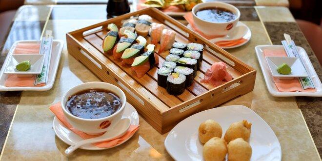 Sushi a hot menu pre 2 osoby v Avione