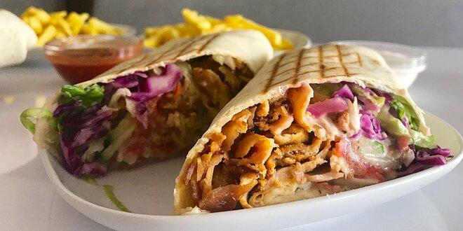 Chutný kebab v centre Žiliny
