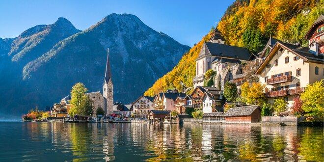 Hallstatt – jeseň v rakúskych Alpách