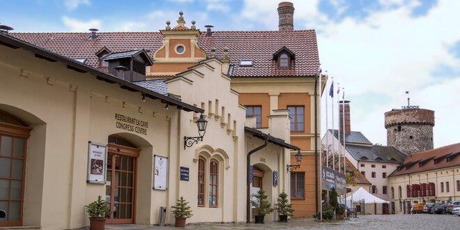 Ubytovanie v historickom centre Tábora s polpenziou a pivným kúpeľom alebo wellness