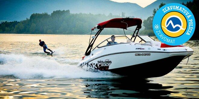 Adrenalínová jazda na motorovom člne s kapitánom