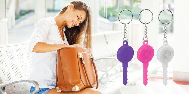 LED Prívesok na kľúče - váš osobný detektív