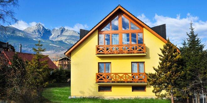 Jesenný pobyt pre 2 až 6 osôb vo Vysokých Tatrách v štúdiách a apartmánoch