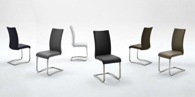 Štýlové stoličky v rôznych farebných prevedeniach