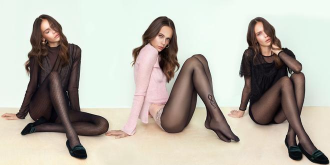Kvalitné punčochy Fiore v 8 módnych vzoroch