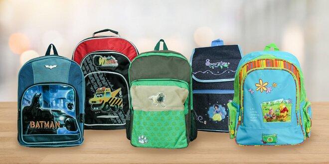 Detské ruksaky a školské tašky s hravými motívmi