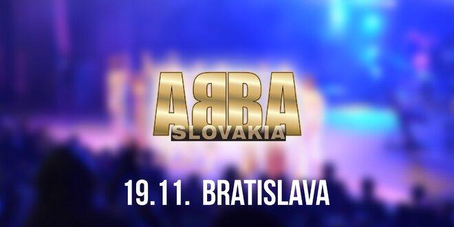 Koncert ABBA SLOVAKIA TOUR Bratislava!