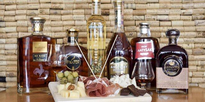 Degustácia cognacu a brandy so someliérom