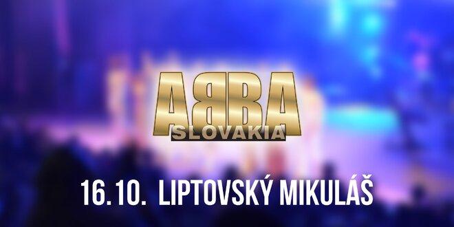 Koncert ABBA SLOVAKIA TOUR Liptovský Mikuláš!