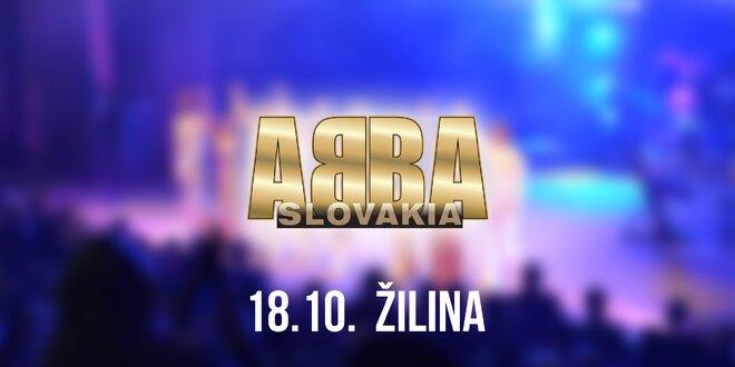 Koncert ABBA SLOVAKIA TOUR Žilina!