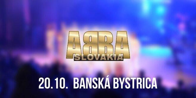 Koncert ABBA SLOVAKIA TOUR Banská Bystrica!