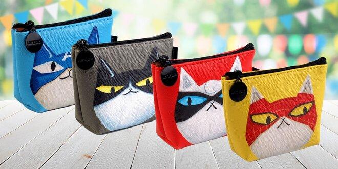 Peňaženka s drsnou mačkou Supermiao