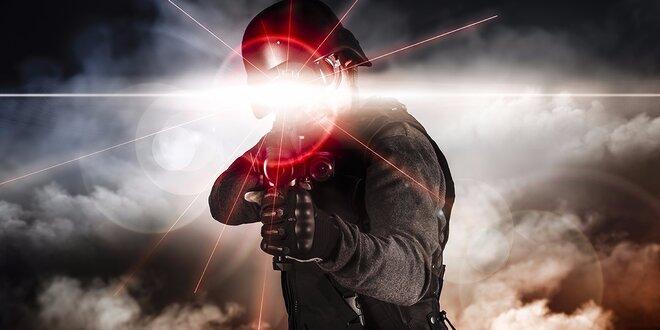 Zažite adrenalínovú Laser Game