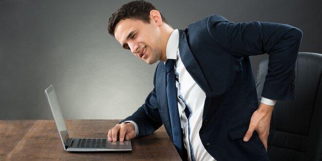 Masážna opierka chrbta na zníženie napätia