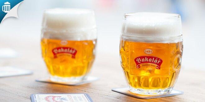 Veľké pivá s nakladaným hermelínom alebo utopenec