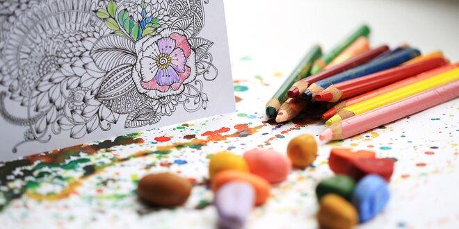 Antistresové maľovanky