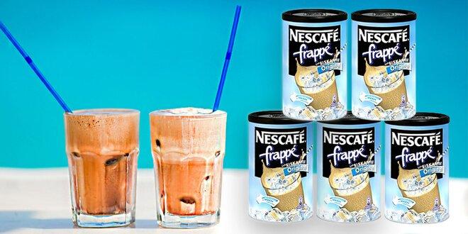 Letné občerstvenie: ľadová káva Nescafé frappé
