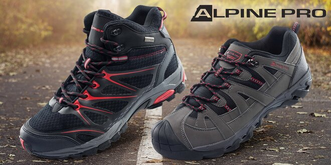 bf471b2ad022 Pánska outdoorová obuv Alpine Pro