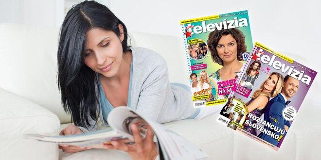 Polročné alebo ročné predplatné Eurotelevízie