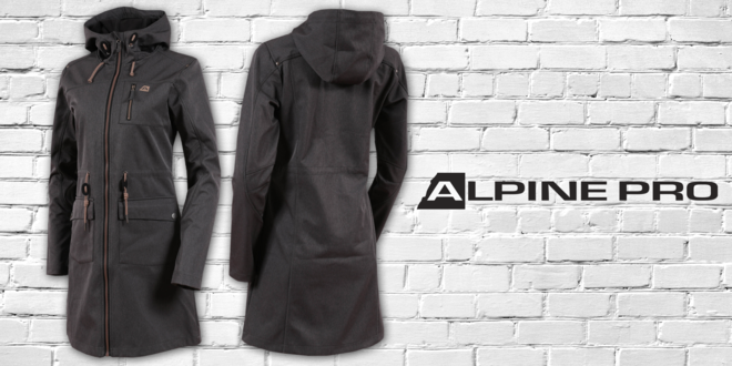 Dámsky softshellový kabát Alpine Pro