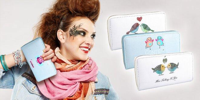 Dámska peňaženka s veselou potlačou