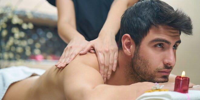 Masáž tváre alebo športová masáž podľa výberu