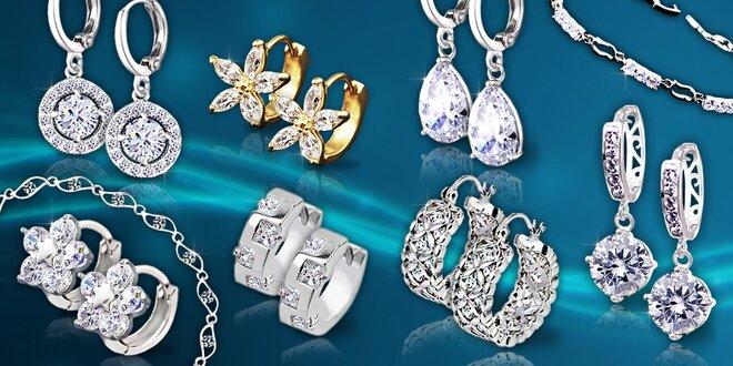 Náušnice a náramky La Diamantina