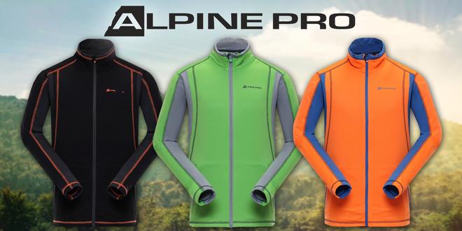 Pánské funkčné mikiny Alpine Pro
