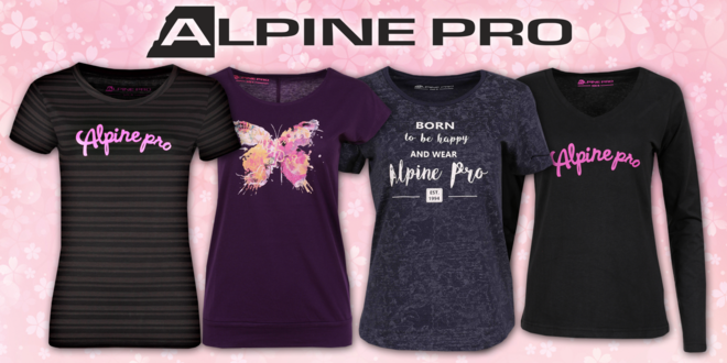 Dámske trička Alpine Pro