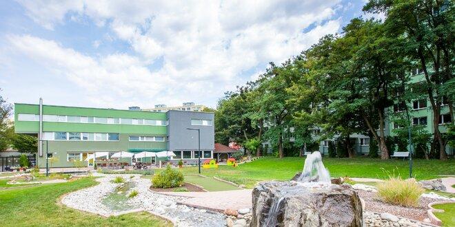Moderné ubytovanie a minigolf v Košiciach