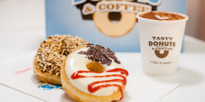Originálne donuty - na výber viac ako 30 druhov