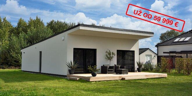 Nové rodinné domy UNO a MONET - kompletná výstavba