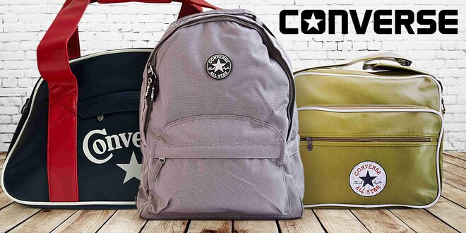 Športové tašky legendárnej značky Converse