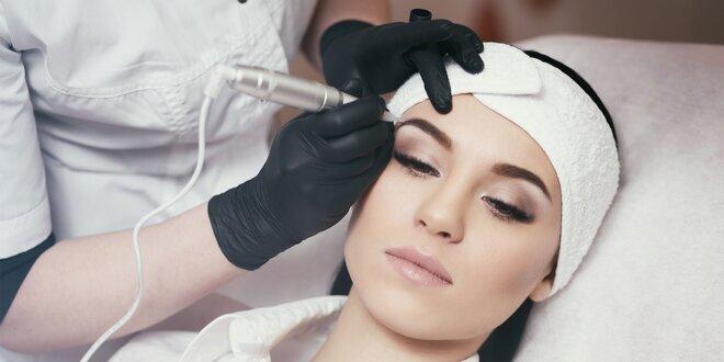 Permanentný make-up obočia i pier