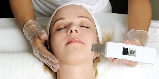 Mikrodermabrázia a ultrazvukové čistenie pleti